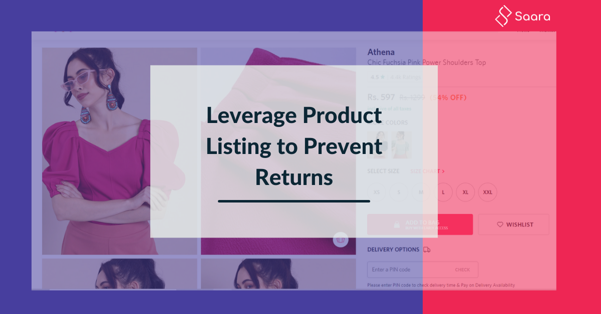 How Accurate Product Listing can Help Prevent Returns